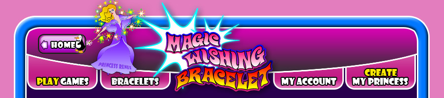 Magic Wishing bracelets and gift ideas. Help the Princess... Save the Prince.